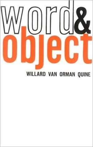 Word & Object de Quine