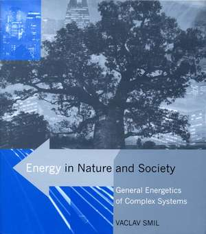 Energy in Nature and Society – General Energetics of Complex Systems de Vaclav Smil