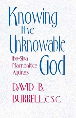 Knowing the Unknowable God imagine