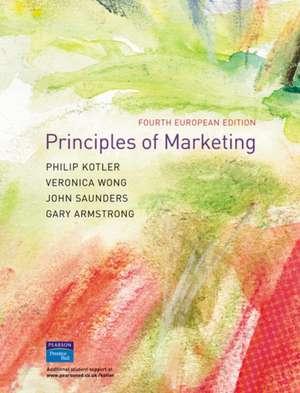 Principles of Marketing: European Edition de Philip Kotler