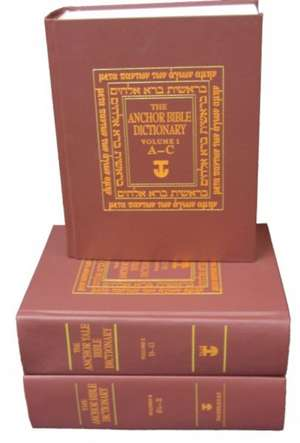 The Anchor Bible Dictionary 6-Volume Prepack imagine