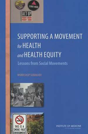 Supporting a Movement for Health and Health Equity