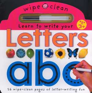 Letters A B C [With Writing Pen] de  Priddy Books