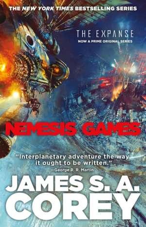 Nemesis Games de James S. A. Corey
