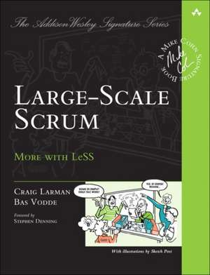 Large-Scale Scrum de Craig Larman