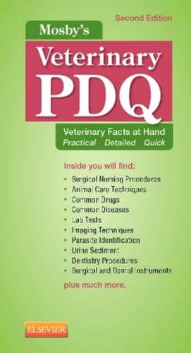 Mosby's Veterinary PDQ de Margi Sirois