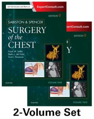 Sabiston and Spencer Surgery of the Chest imagine
