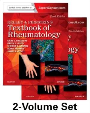 Kelley and Firestein's Textbook of Rheumatology, 2-Volume Set