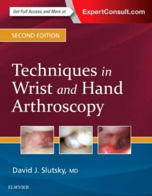 Techniques in Wrist and Hand Arthroscopy