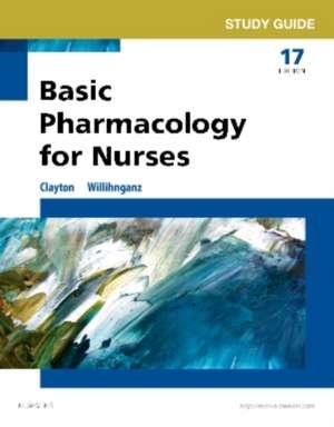Study Guide for Basic Pharmacology for Nurses