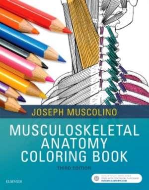 Musculoskeletal Anatomy Coloring Book de Joseph E. Muscolino