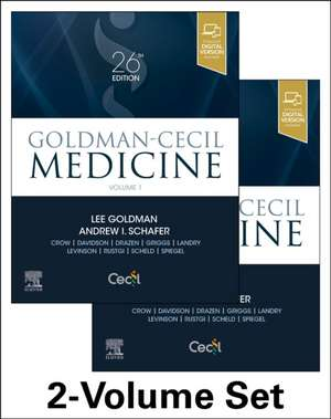 Goldman-Cecil Medicine, 2-Volume Set de Lee Goldman