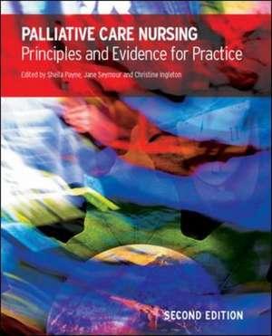 Palliative Care Nursing: Principles and Evidence for Practice imagine