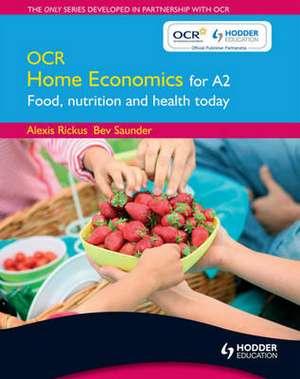 OCR Home Economics for A2