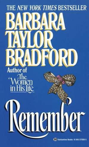 Remember de Barbara Taylor Bradford