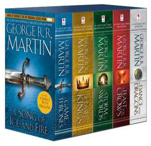 A Song Of Ice and Fire Box Set (1-5)