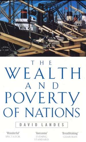 Wealth And Poverty Of Nations de David S. Landes