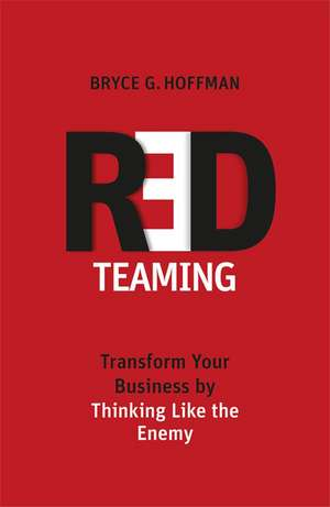 Red Teaming de Bryce G. Hoffman