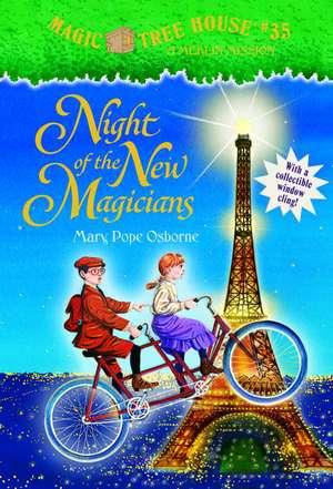 Magic Tree House #35: Night of the New Magicians de Mary Pope Osborne