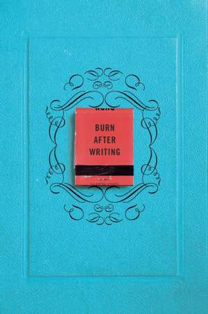 Burn After Writing de Sharon Jones