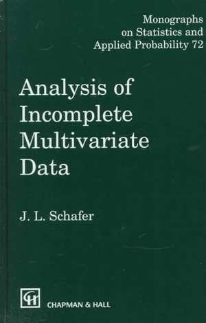 Analysis of Incomplete Multivariate Data imagine