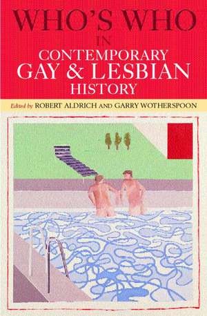 Who's Who in Contemporary Gay and Lesbian History imagine