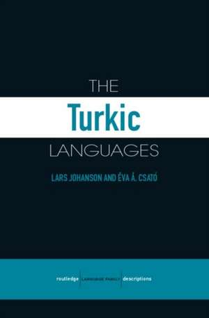 The Turkic Languages