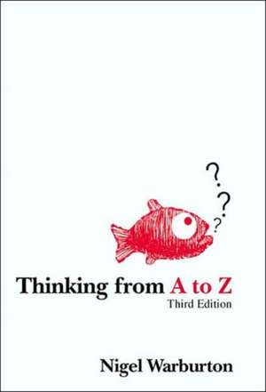 Thinking from A to Z imagine