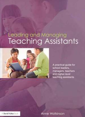 Leading and Managing Teaching Assistants
