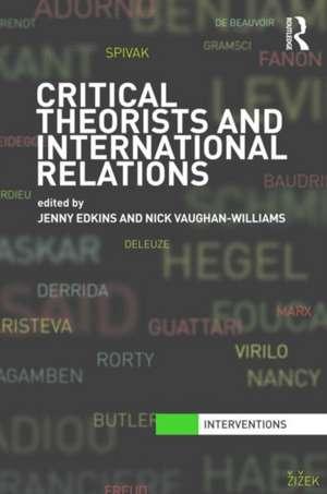 Critical Theorists and International Relations imagine