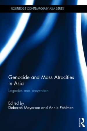 Genocide and Mass Atrocities in Asia