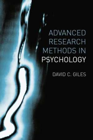 Advanced Research Methods in Psychology imagine
