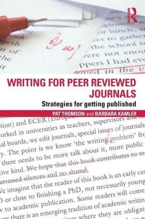 Writing for Peer Reviewed Journals imagine