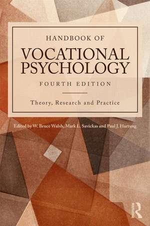 Handbook of Vocational Psychology de W. Bruce Walsh
