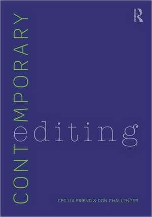 Contemporary Editing de Cecilia Friend