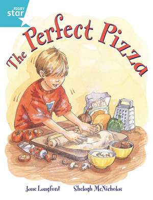 Rigby Star Guided 2, Turquoise Level: The Perfect Pizza Pupil Book (Single)