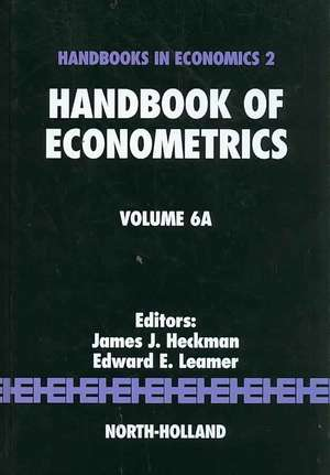 Handbook of Econometrics de James J. Heckman