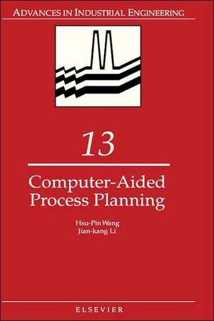 Computer-Aided Process Planning de H.P. Wang
