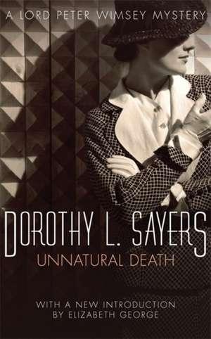 Unnatural Death de Dorothy L. Sayers