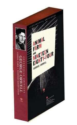 Animal Farm and 1984, Centennial Editions de George Orwell