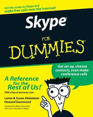 Skype For Dummies de Loren Abdulezer