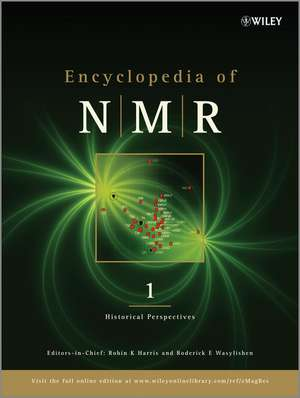Encyclopedia of NMR, 10 Volume Set