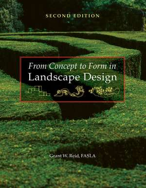 From Concept to Form in Landscape Design imagine