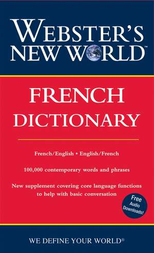 Webster's New World French Dictionary (2nd Ed) de Harraps