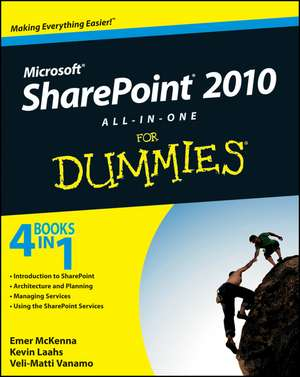 SharePoint 2010 All–in–One For Dummies