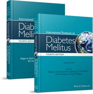 International Textbook of Diabetes Mellitus, 2 Volume Set