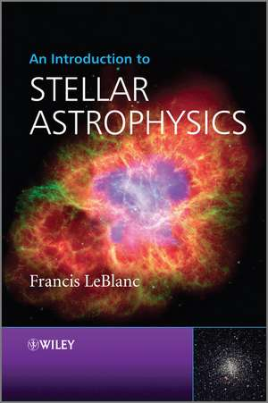 An Introduction to Stellar Astrophysics imagine