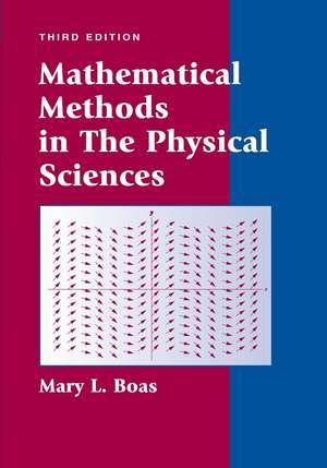 Mathematical Methods in the Physical Sciences imagine