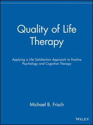 Quality of Life Therapy imagine