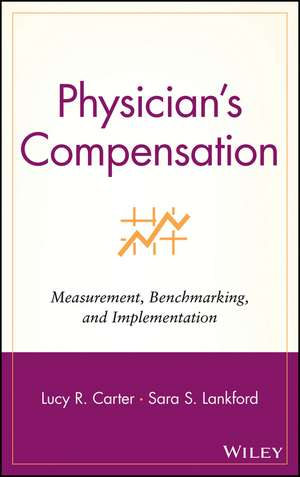 Physician′s Compensation: Measurement, Benchmarking, and Implementation de Lucy R. Carter